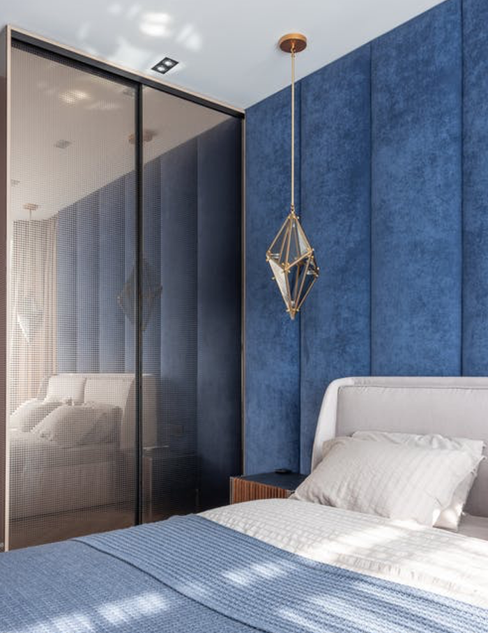 creating a peaceful atmosphere to prepare you for a good night's sleep